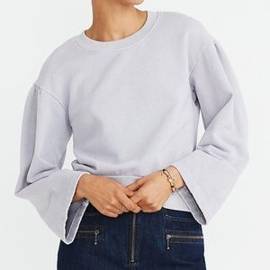 Madewell Karen Walker Small Purple Sweater